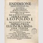 Titelblatt zur Oper ...