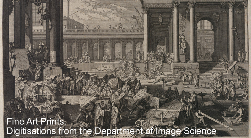 Fine Art Prints. Digitisations from the Department of Image Science