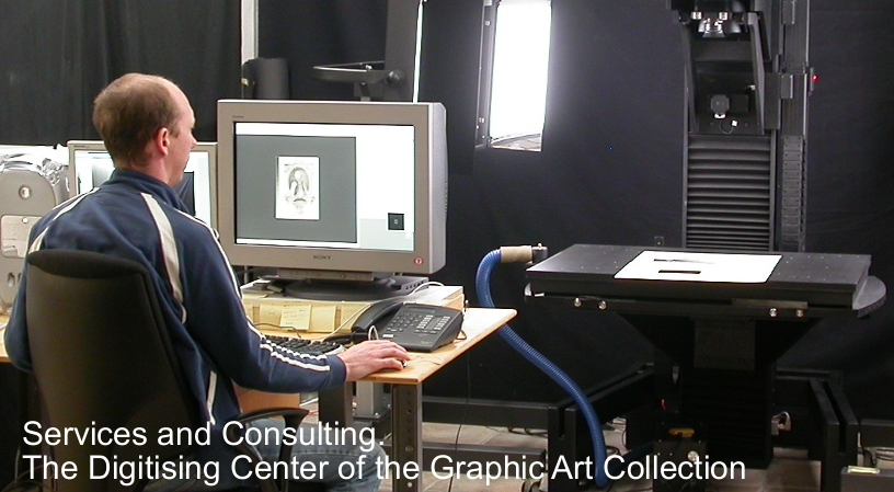 Services and Consulting. The Digitising Center of the Graphic Art Collection