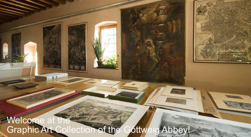 Welcome at the Graphic Art Collection of the Göttweig Abbey!
